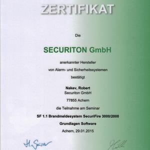 Brandmeldesystem SecuriFire 3000/2000