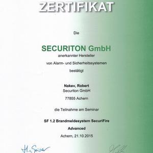 Brandmeldesystem SecuriFire Advanced