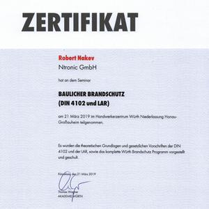 Baulicher Brandschutz nach DIN 4102 und LAR